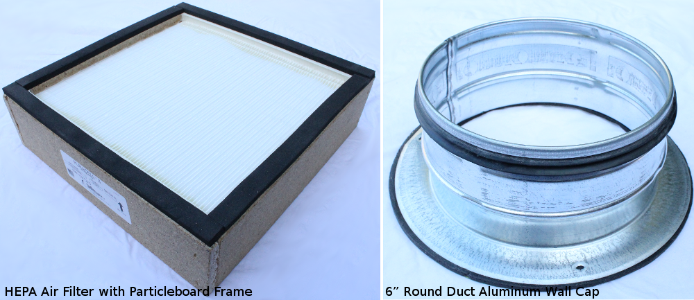 Installing filters into the box — Laser Cutter Build Documentation